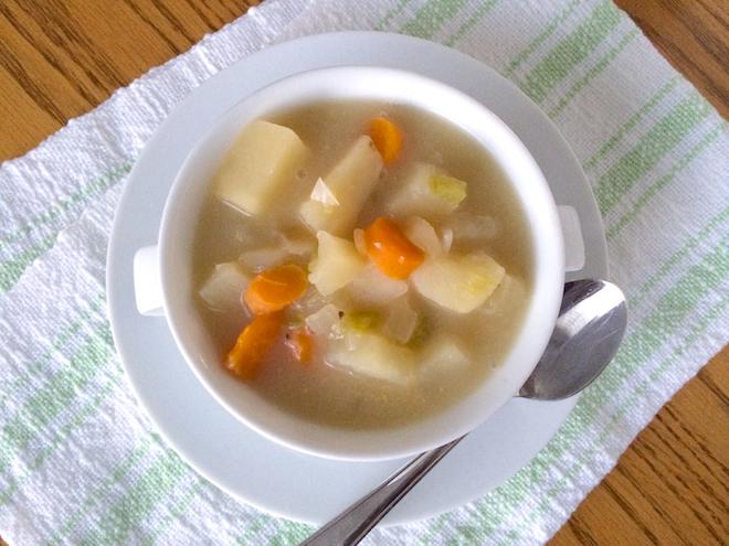 Crock Pot Potato Soup (GlutenFree DairyFree) Potato