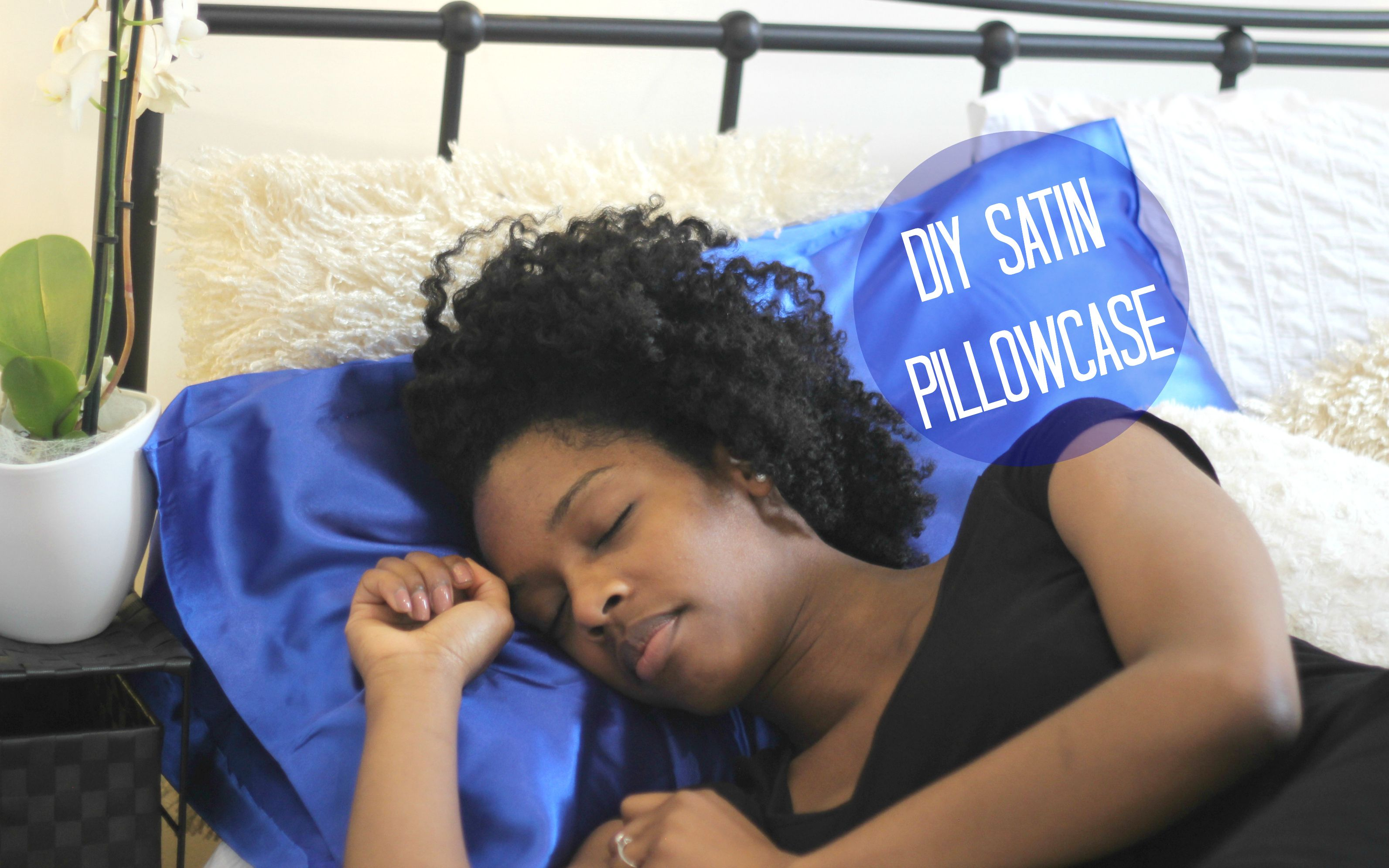 Diy Satin Pillowcase Satin Pillowcase Satin Hair Care