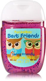 Best Friend Owls Pocketbac Sanitizing Hand Gel Soap Sanitizer
