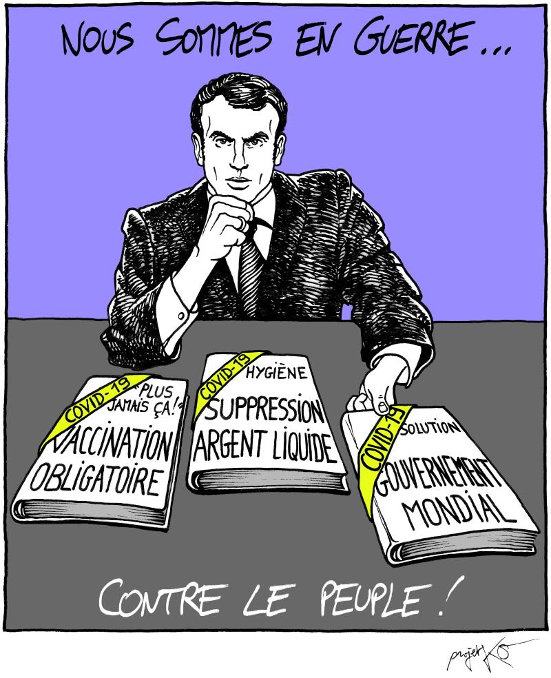 La course à la mort d'Emmanuel Macron ce sera lui ou