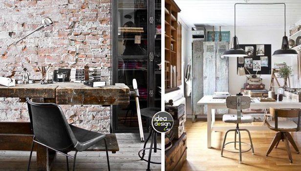 Ufficio In Casa Idee : Arredo ufficio in stile industriale idee lasciatevi ispirare
