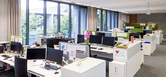 Pin von WINI Büromöbel | WINI MEIN BÜRO. auf WINEA X Paneelsystem ...