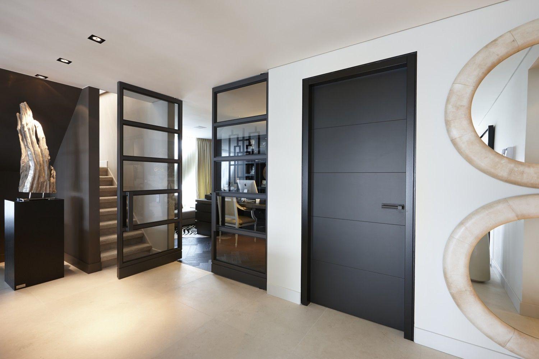 Hal met deuren van bod or design by eric kuster residential