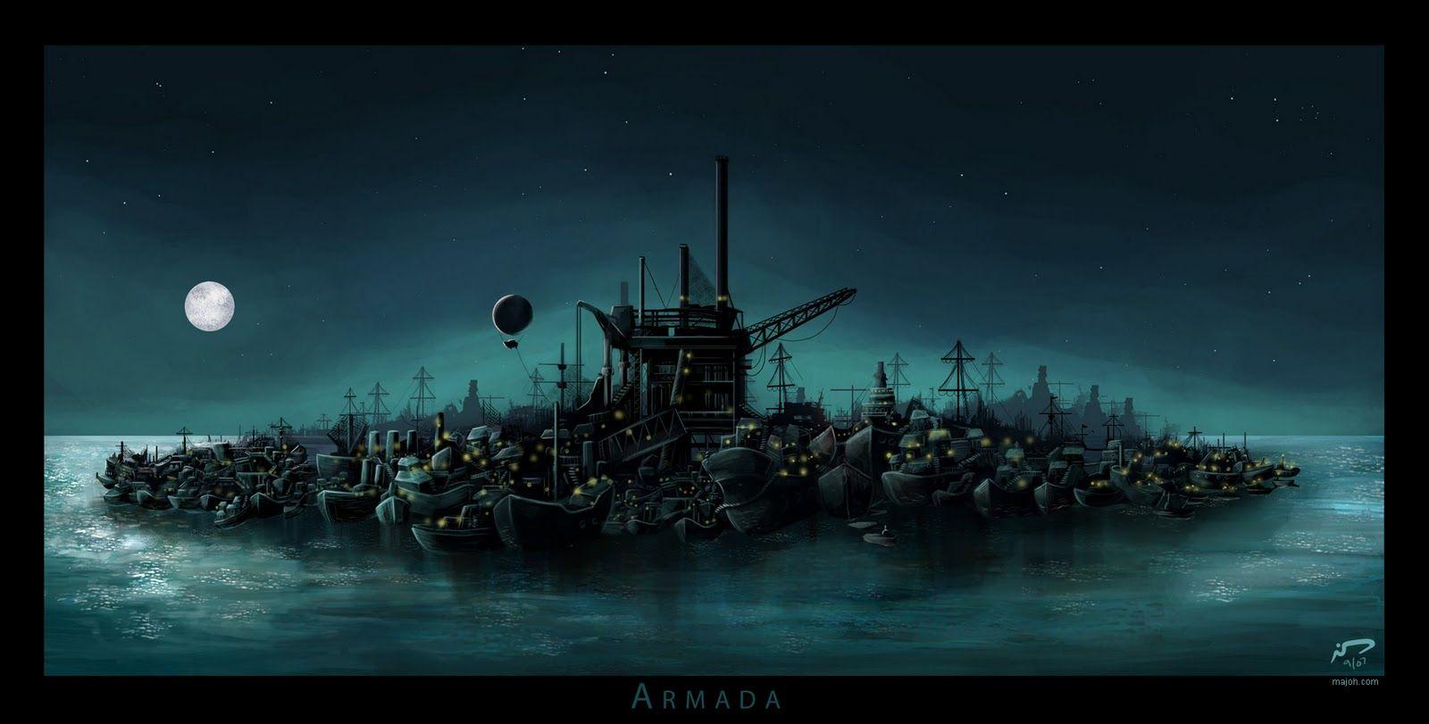 Armada -- The Scar, Mieville