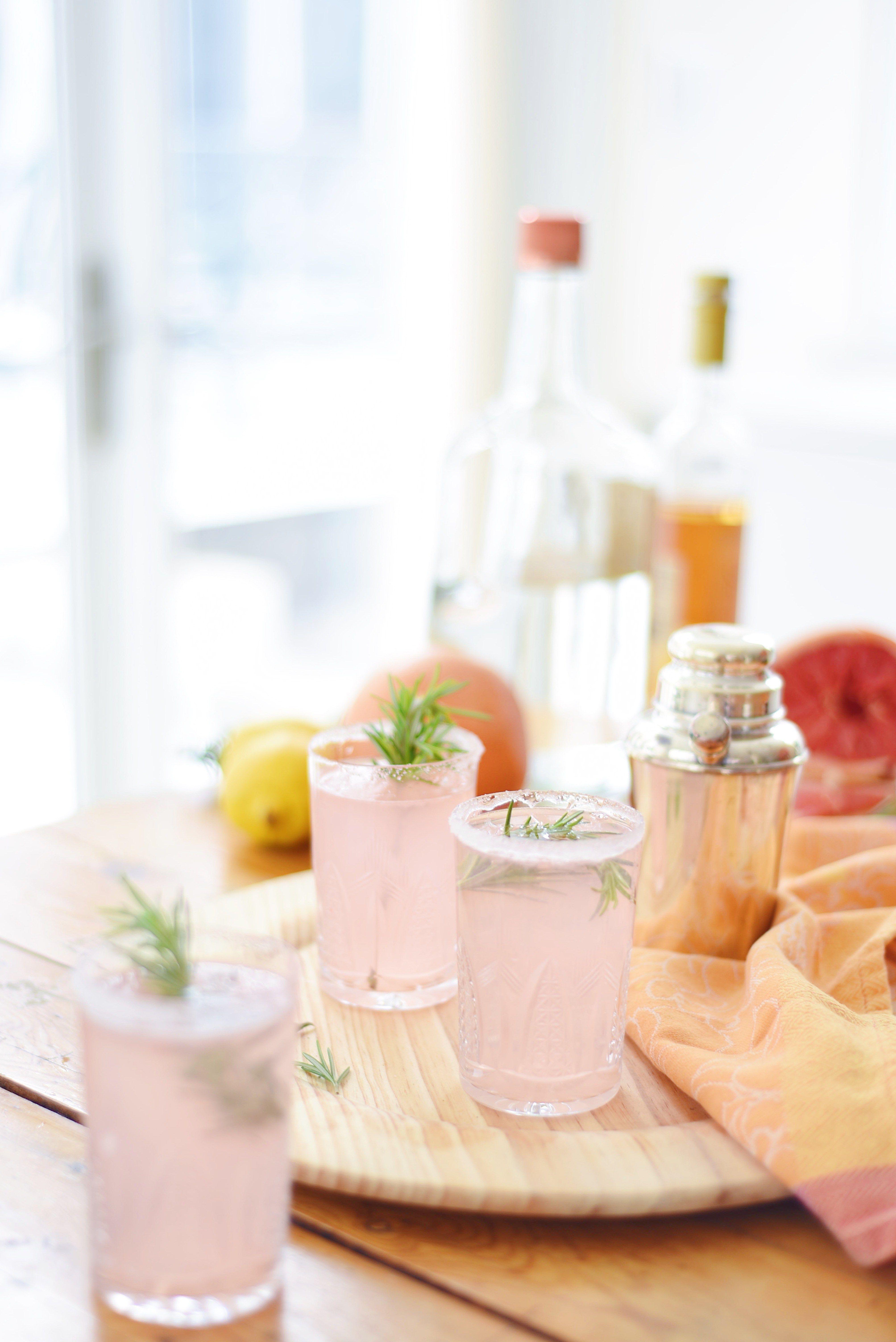 The Ruby Rose Cocktail via Lauren Kelp