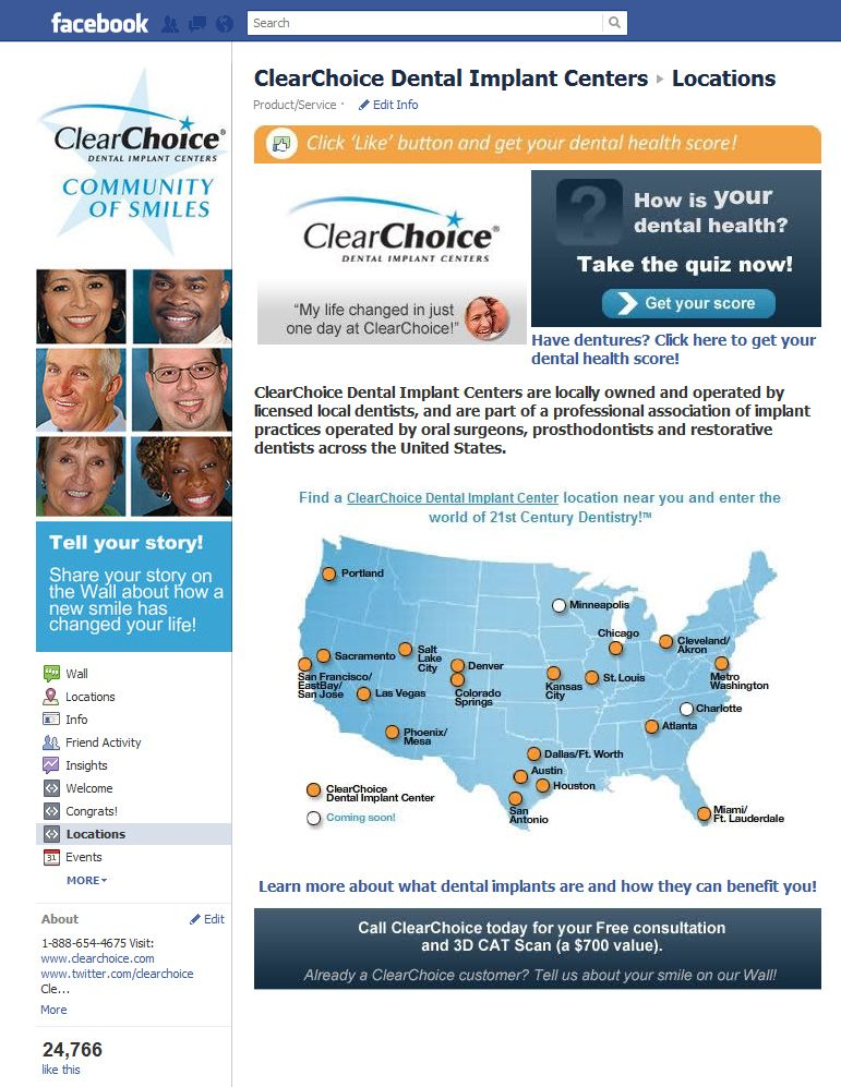 ClearChoice (With images) Life changes, Dental implants
