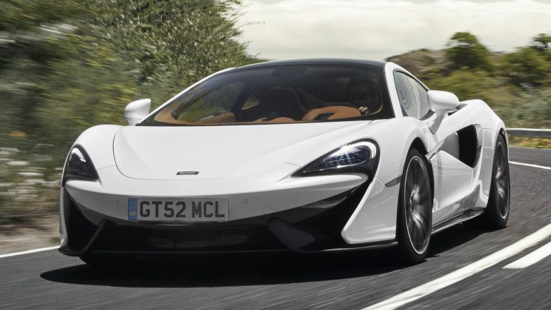 McLaren GT Can Be As Sporty As The S Sporty Car - Cool cars with low insurance