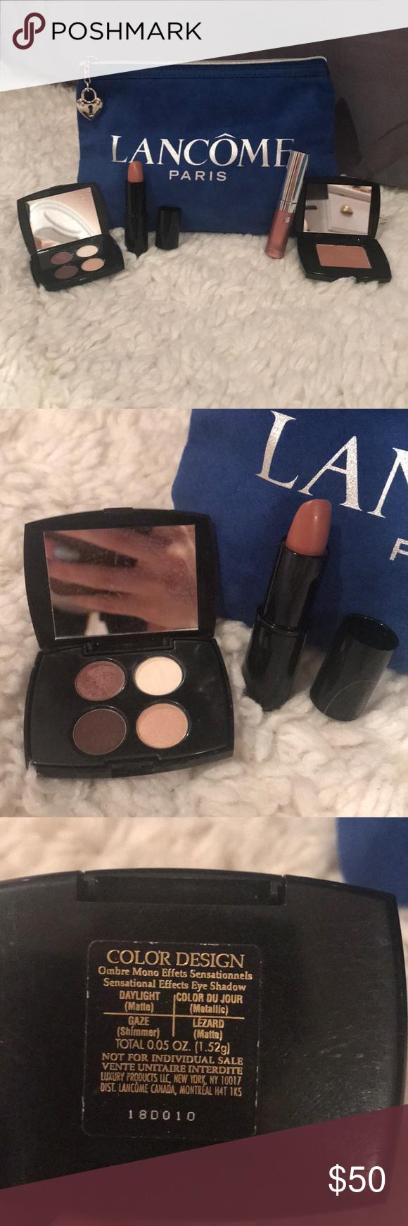 Lancôme makeup plus bag! 💄 Lancôme set includes makeup