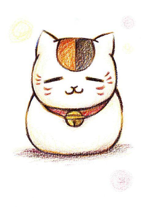 ニャンコ先生りくあのイラスト Pixiv Natsume Yuujinchou