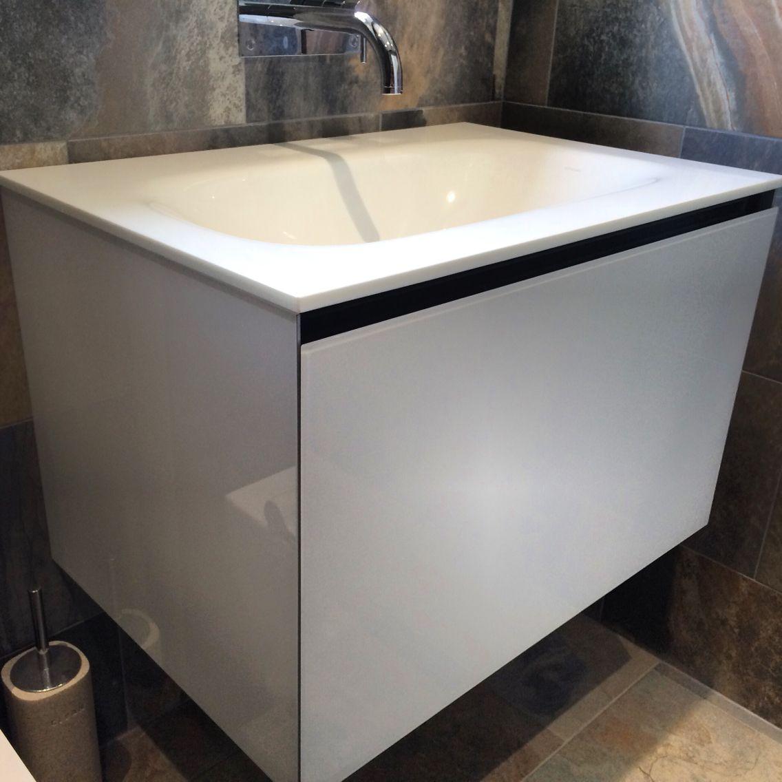 Tapis Salle De Bain Vinyl ~ Artelinea Domino 75 Basin Installed By Aquanero Bathroom Design