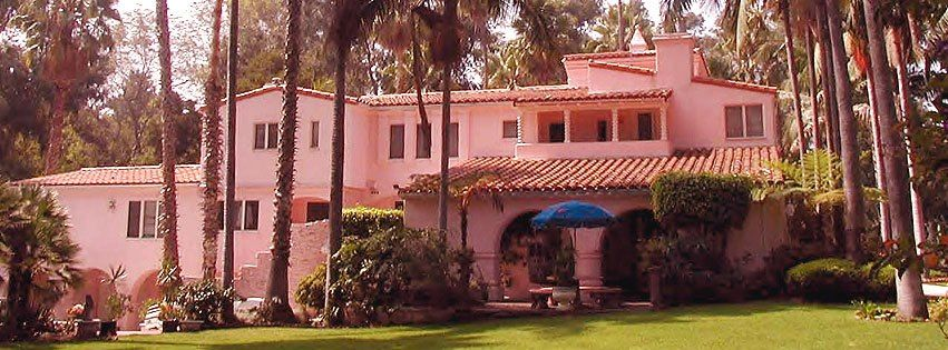 Jayne Mansfield House pink palace (jayne mansfield's home) | famous homes | pinterest
