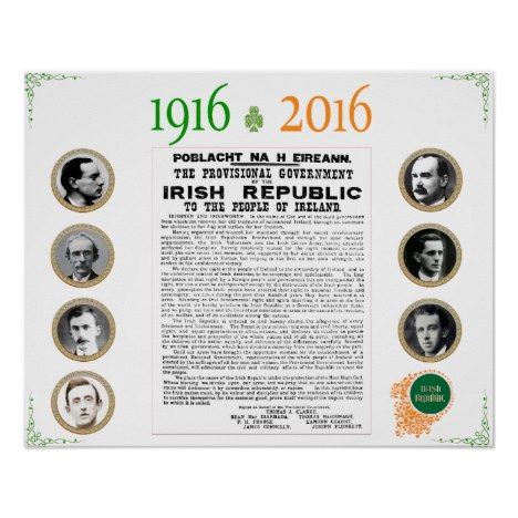 Easter rising 1916 2016 commemorative poster easter posters easter rising 1916 2016 commemorative poster easter posters negle Images
