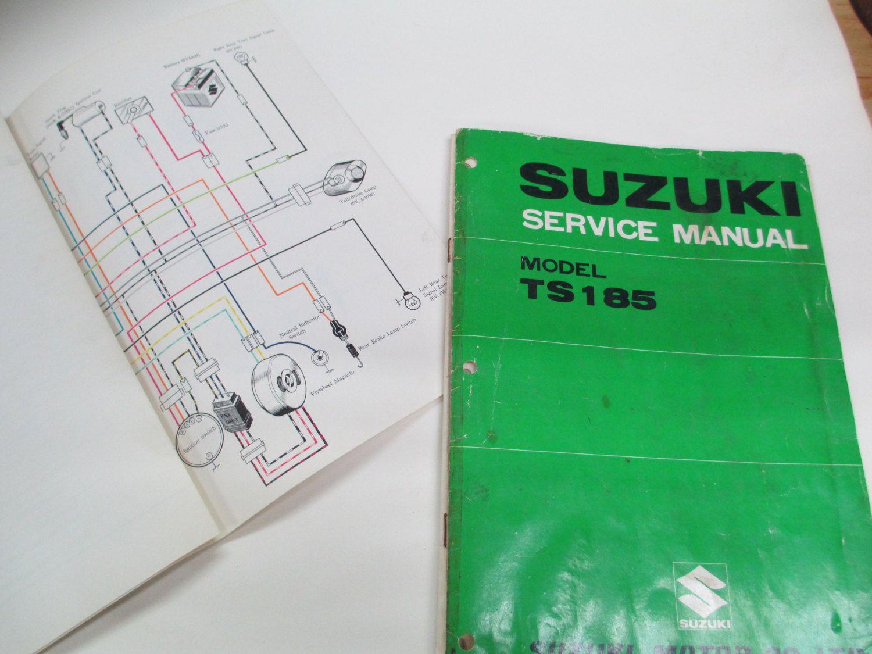 1971 – 1976 Suzuki TS185 Sierra Motorcycle Service Manual