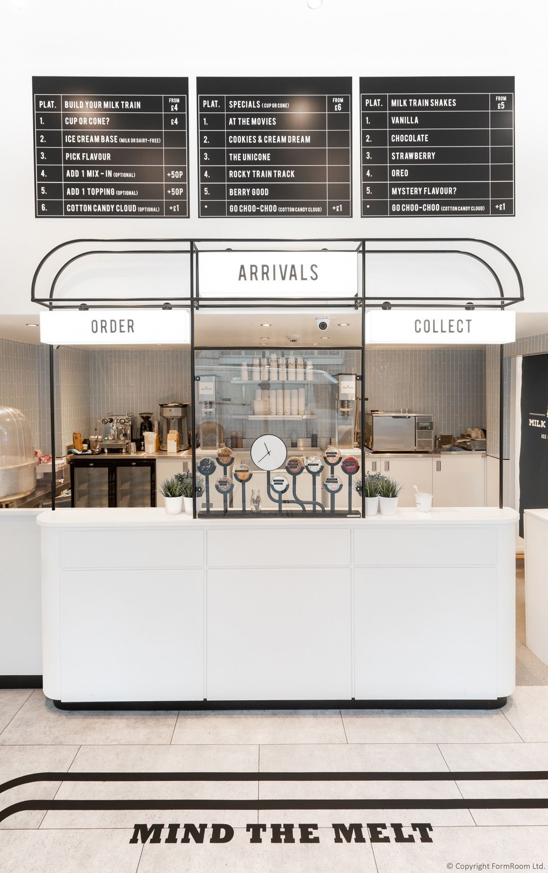 Formroom Completes Instagrammable Interior Design For Ice Cream
