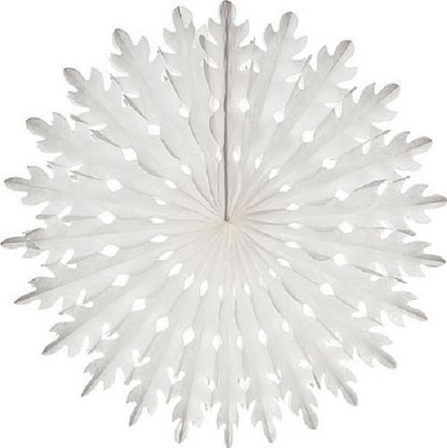 Honeycomb Fan (14 inches) #floconsdeneigeenpapier