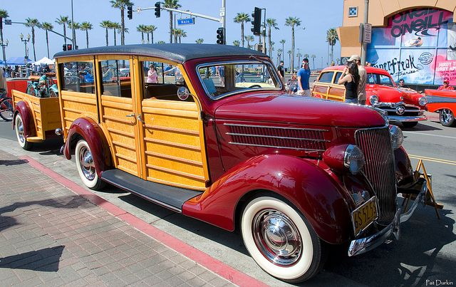 1936 Ford Woo With Trailer Maroon Fvr Via Flickr 2016 Chevy Silverado
