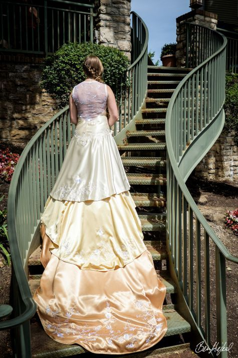 Golden Ombre Transforming Wedding Gown Pinterest Swing Dancing