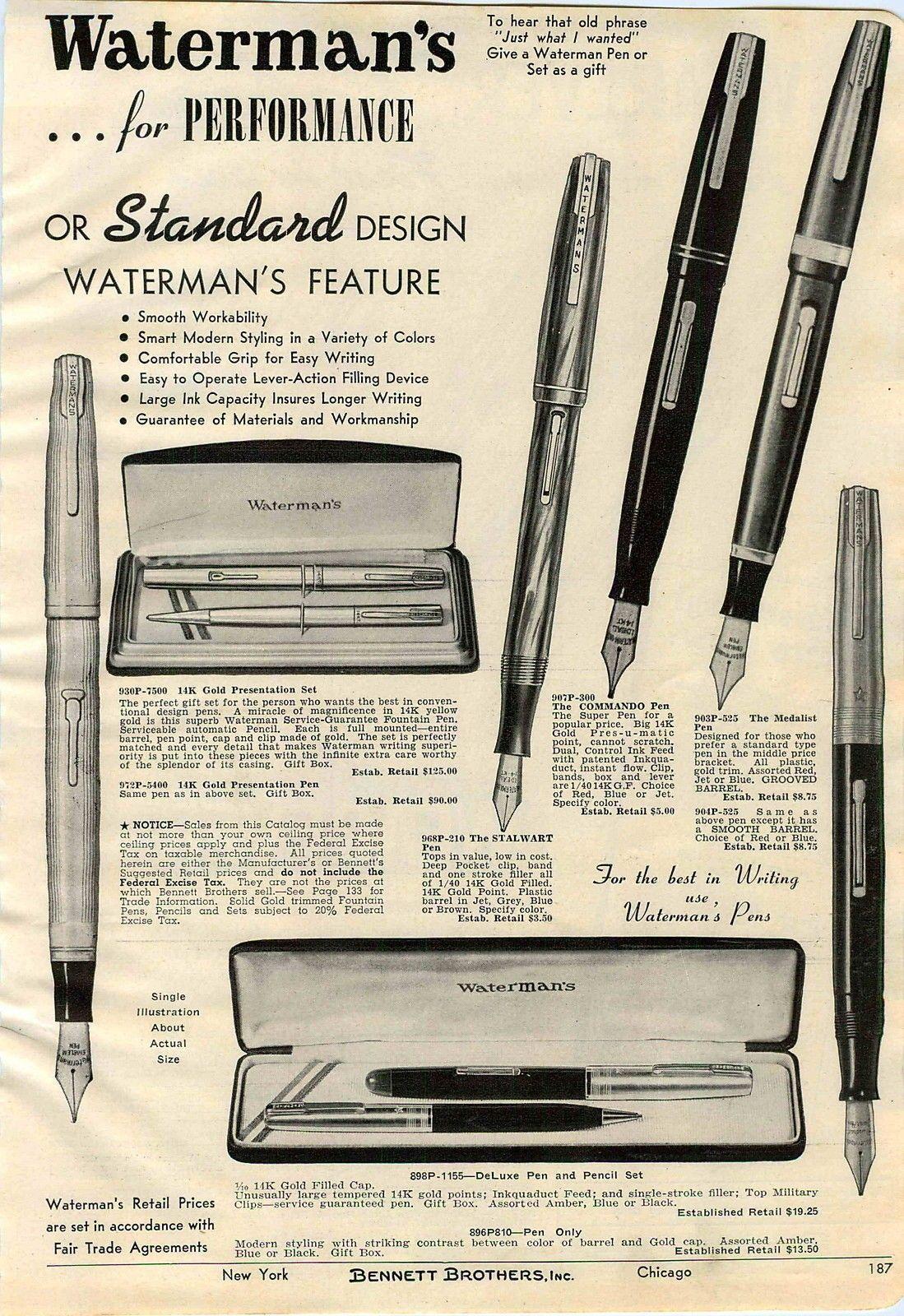 Pin by Michael G. Skaggs on Waterman Waterman pens