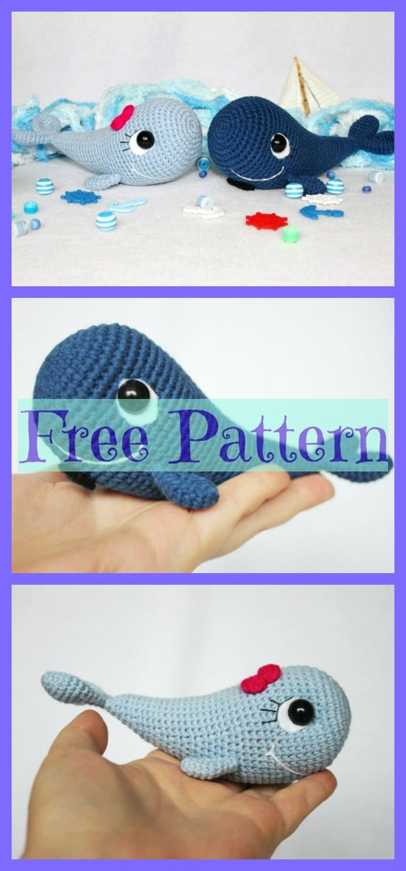 How to Crochet a Blue Whale Amigurumi - YouTube | 1500x700