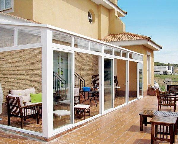 Acristalamientos ams cerramientos de aluminio terraza for Cerramientos para jardines