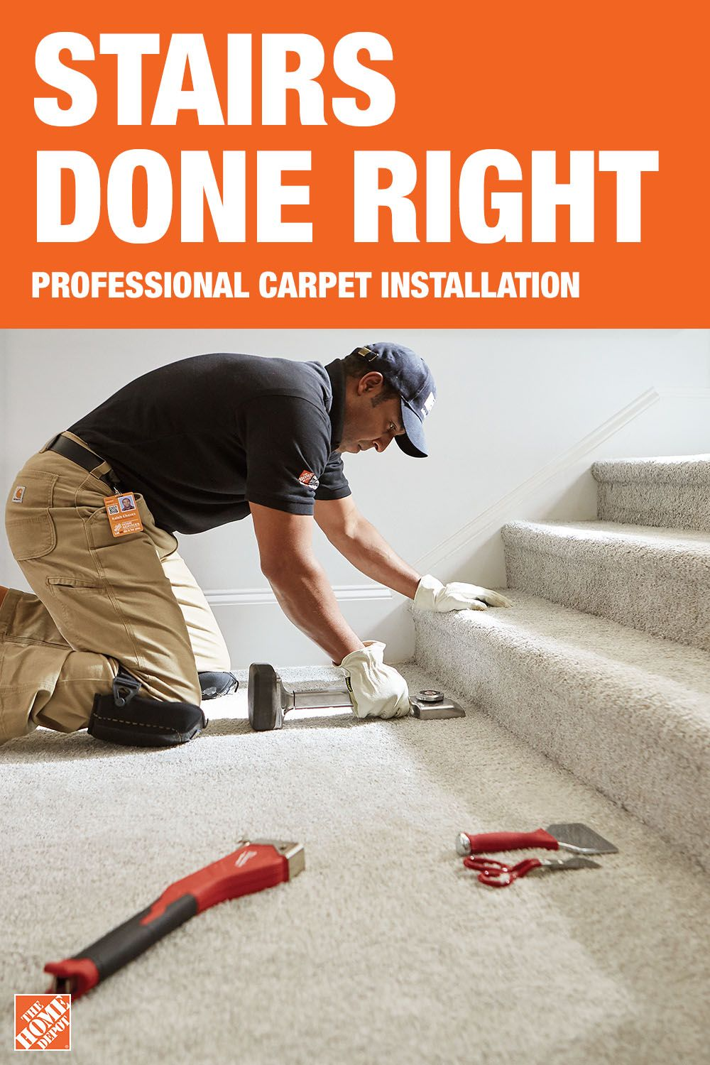 When You Get Your New Carpet Installed By The Home Depot You Ll   Best Carpet For Stairs Home Depot   Flooring   Carpet Tiles   Hallway Carpet   Textured Carpet   Shaw Floors