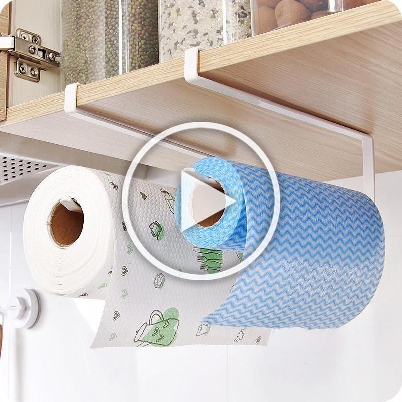 Practical Kitchen Toilet Paper Towel Rack Paper Towel Roll Holder