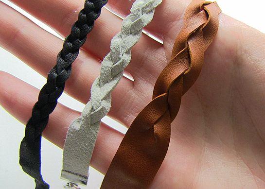 Lederarmband flechten aus einem stück  Flecht-Armband aus Leder | DIY LOVE | Leder | Pinterest ...