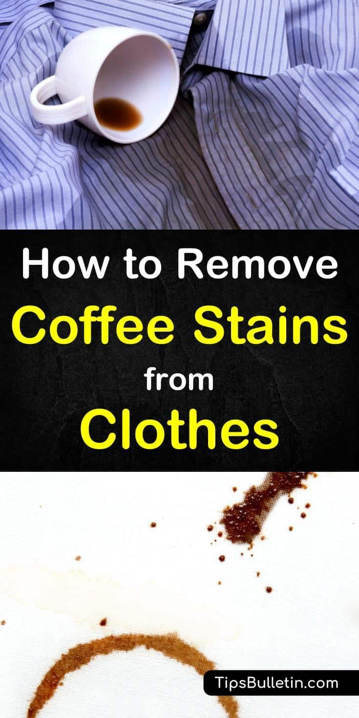 5 quick clever ways to remove coffee stains from clothes