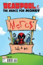 Deadpool & The Mercs for Money #1 Young Variant