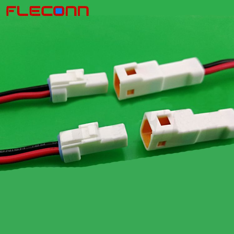 JST 2.0mm Pitch JWPF WiretoWire Waterproof Connector