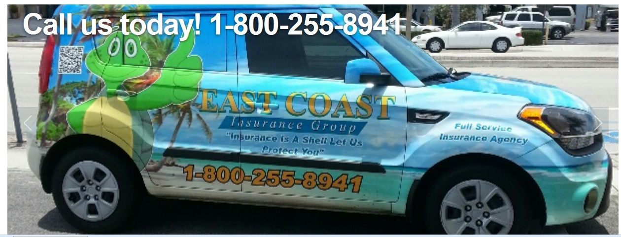 East coast insurance as the name suggests provides