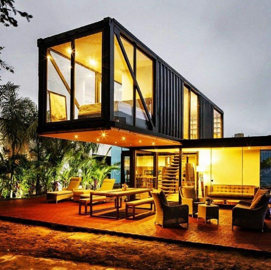 Casas hechas con containers 2 | Container | Pinterest | Casas ...