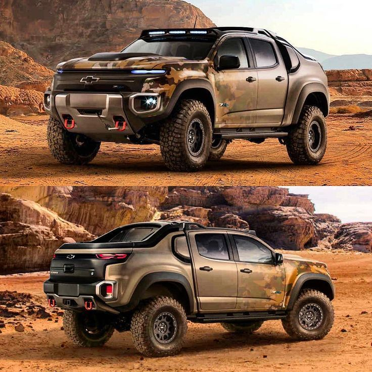 Chevrolet Colorado Zh2 Fuel Cell Vehicle Was Designed For Military