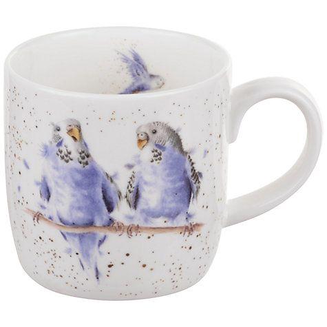 Wrendale Kingfisher Mug King of the River Bird Fine China Mug