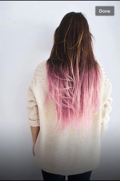 bright color hair dye at ends on brunette - Google Search ...