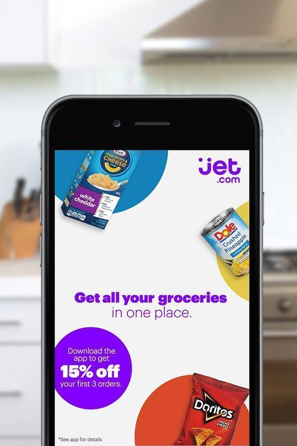 Jet Online Shopping App for Discounts on Grocery Items