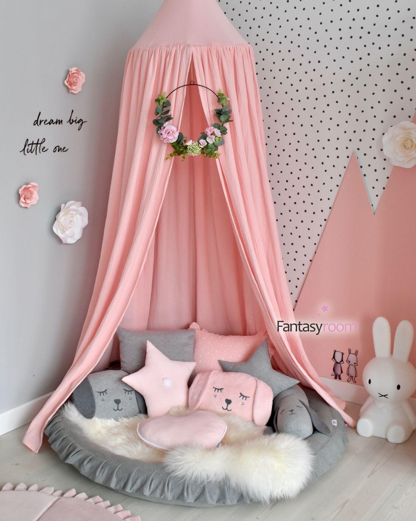 Photo of Komfortable Ecke für Mädchen in Pink & Grau – Mein Blog