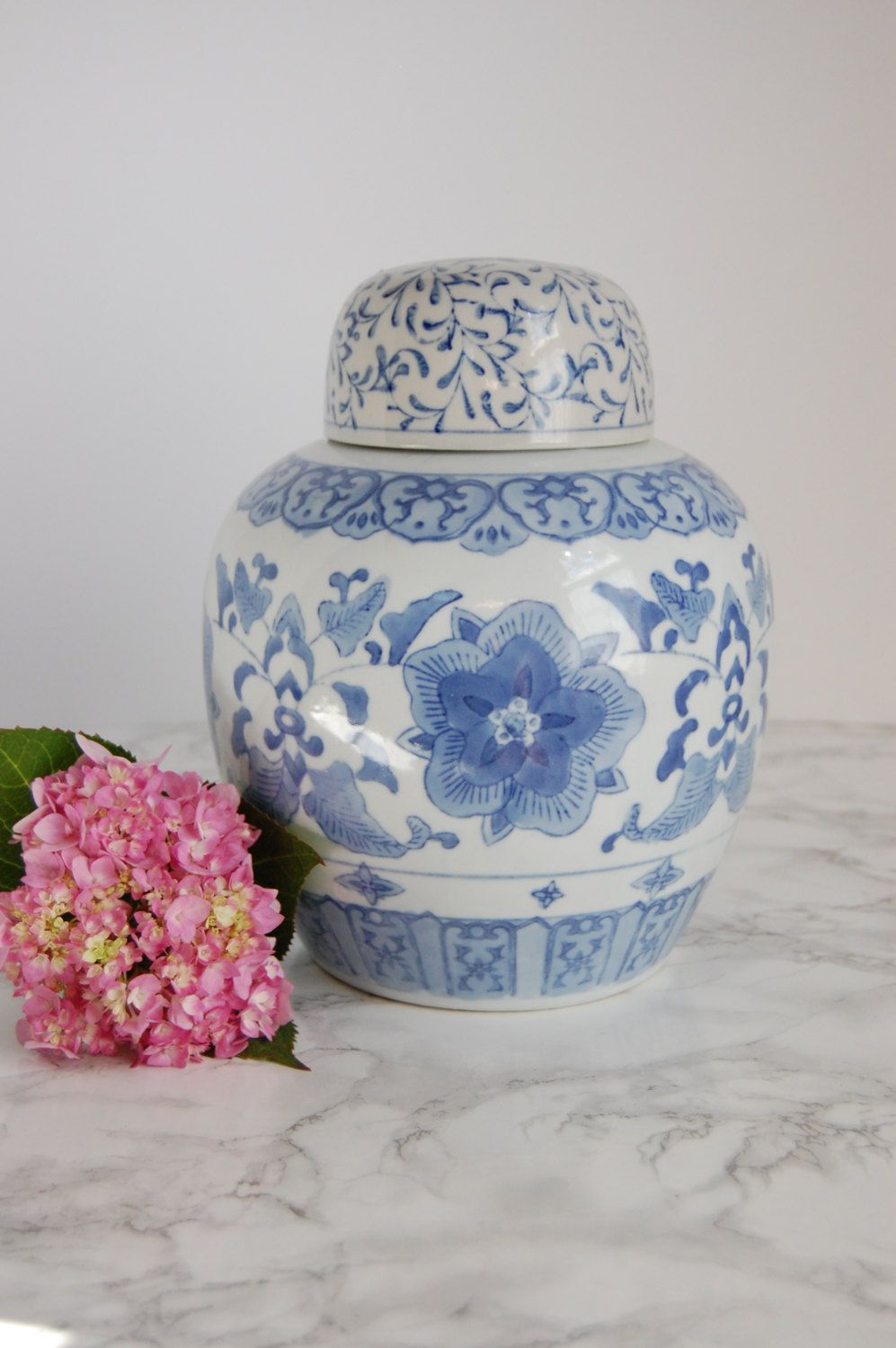 Blue and white ginger jar large asian ginger jar blue white blue and white ginger jar large asian ginger jar blue white chinese vase reviewsmspy