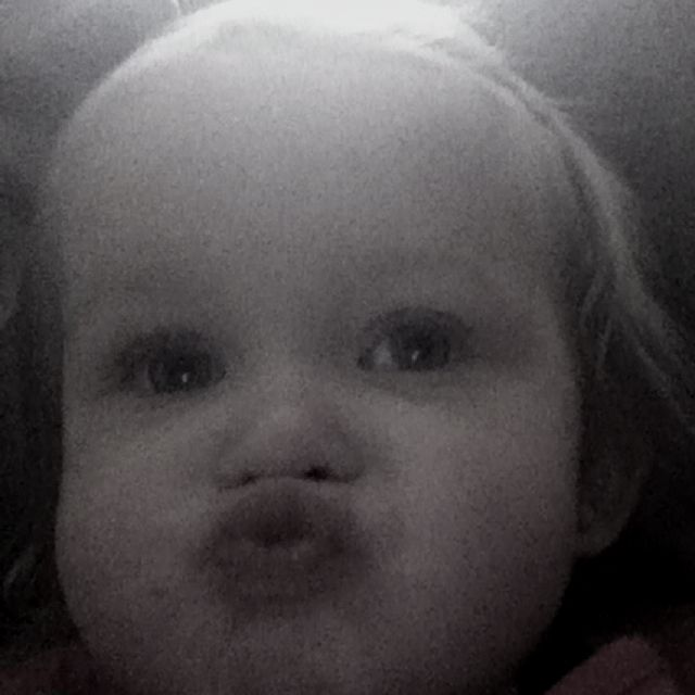 A kiss from Ameillia Marie husband