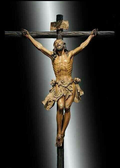 Talha Escultura Júlio Leal Cruz De Cristo Jesus Cristo Crucificação De Jesus