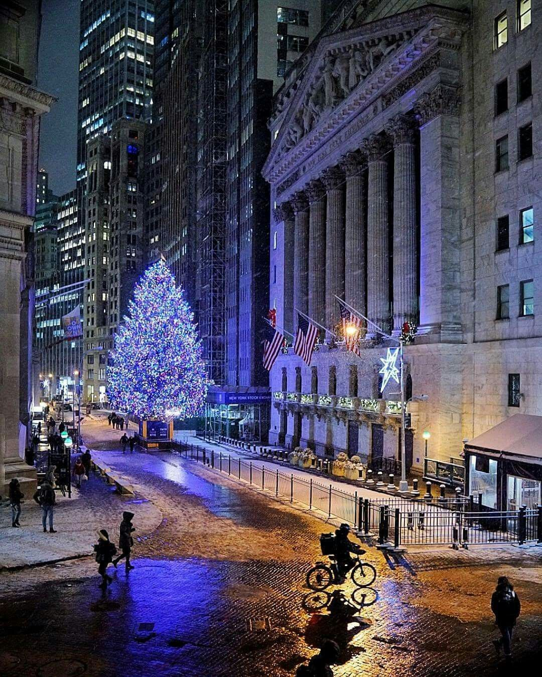 wall street historic district photo nyc new york city