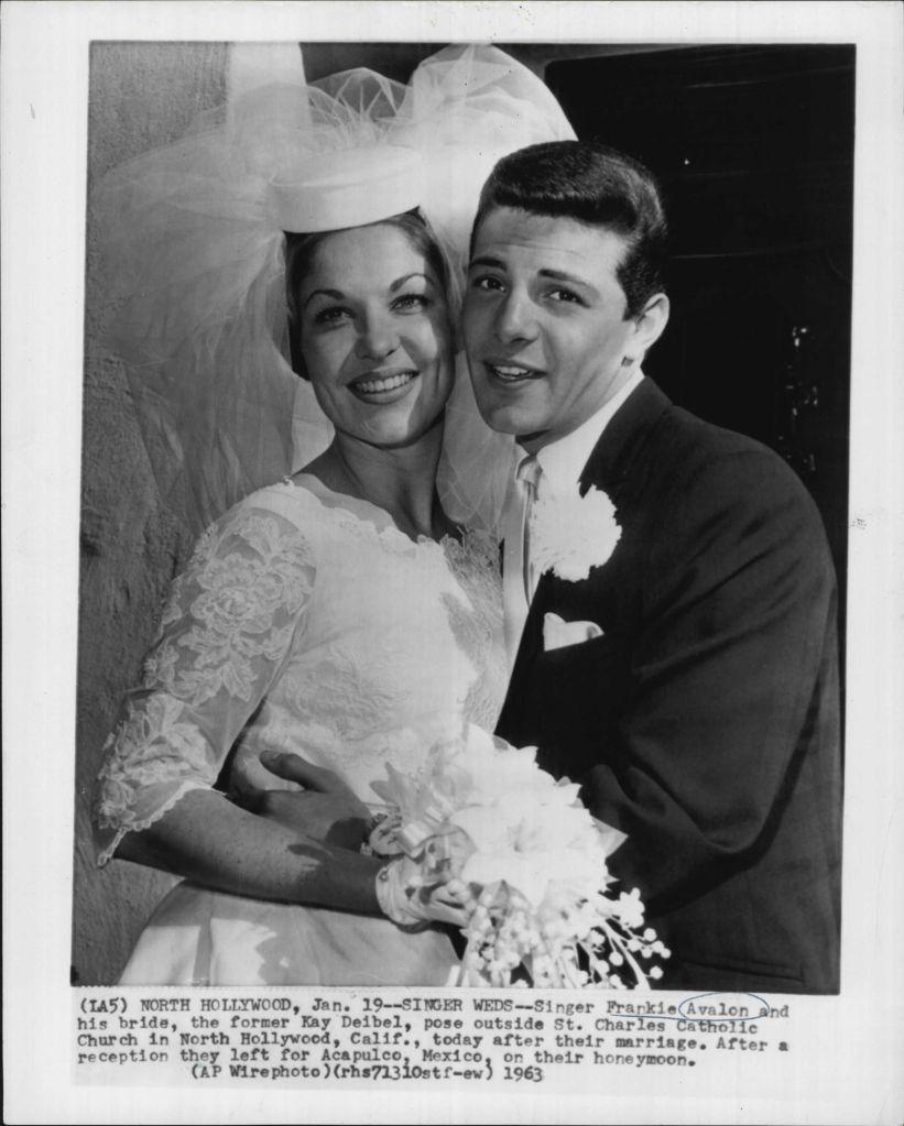 Celebrity Wedding Singers: Singer/Songwriter Frankie Avalon And Kay Deibel Married In