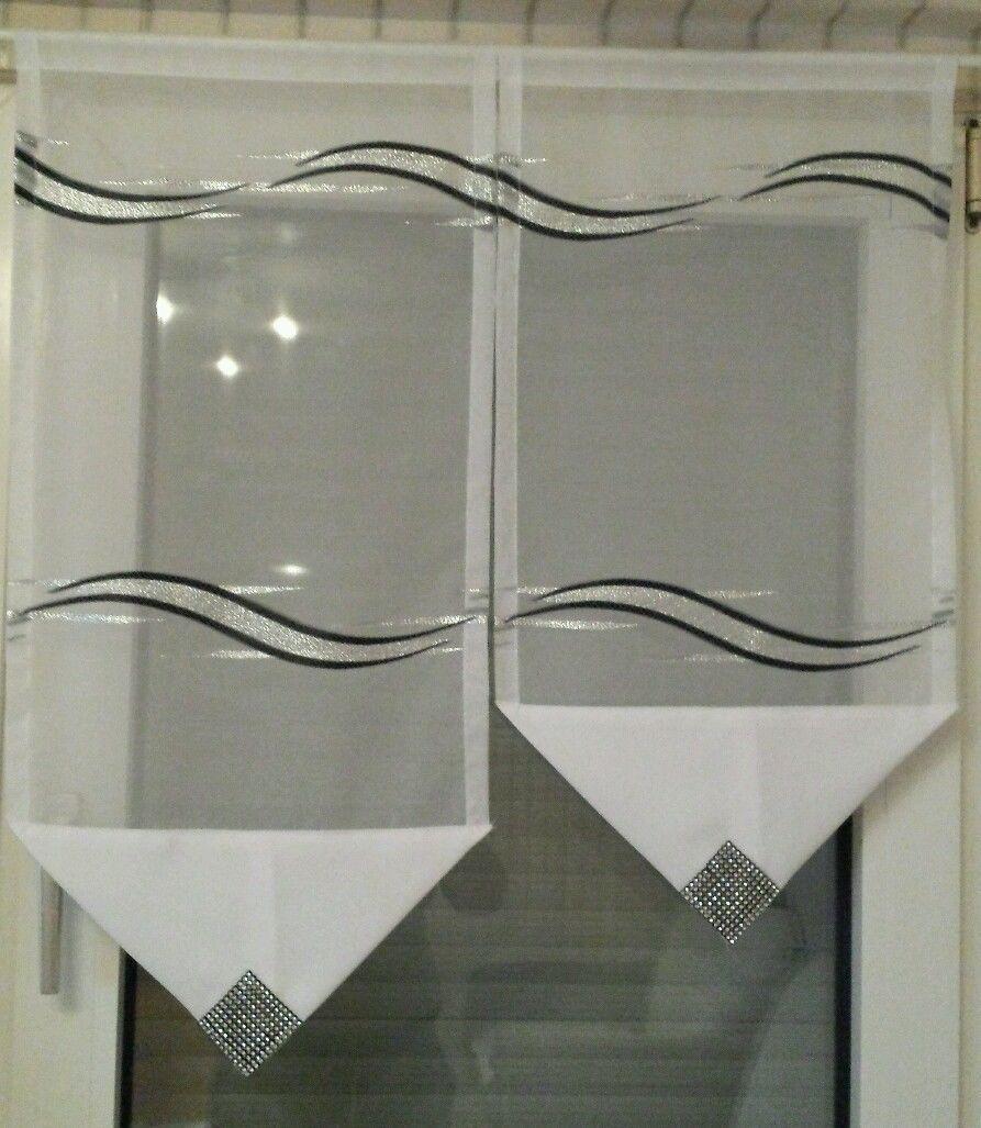 Schwarz Weiß Vorhänge In Einem Modernen Interieur 21: Pin Von Mária Vigh Auf Függöny