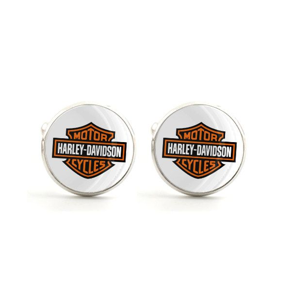 harley davidson cufflinks - harley davidson motorcycle cufflinks