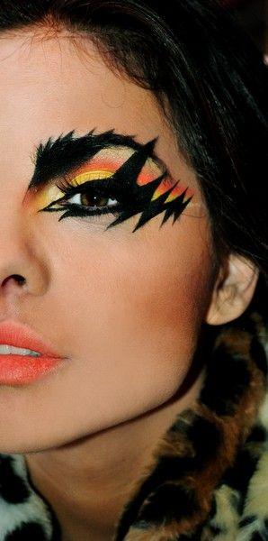 Rockin Rock Makeup Fantasy Makeup Makeup