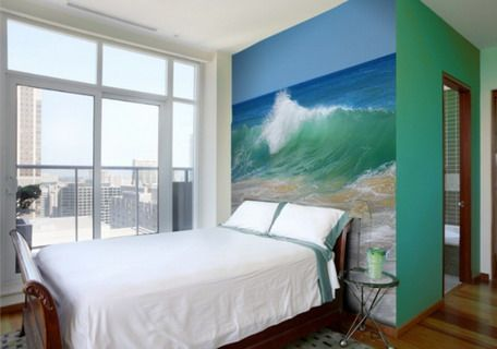 BEACH MURAL IDEAS TO PAINT ON DIVIDER WALL   beautiful home design ...