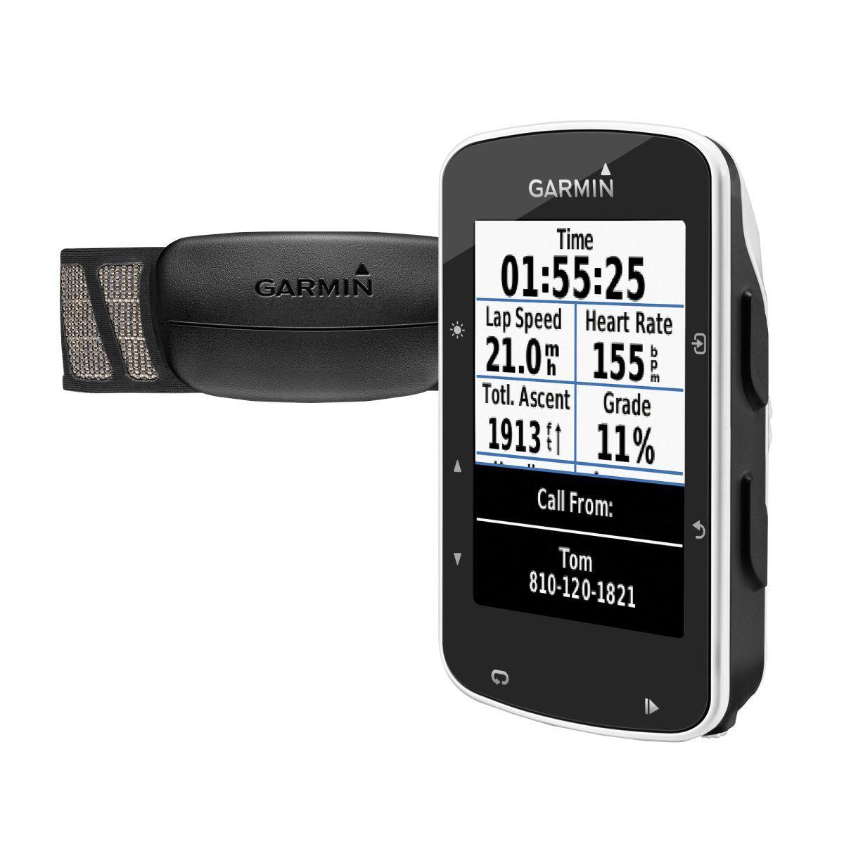 Bike Computer Garmin Edge 520 HRM Bundle, cykeldator med pulsbälte   Xmas   Pinterest