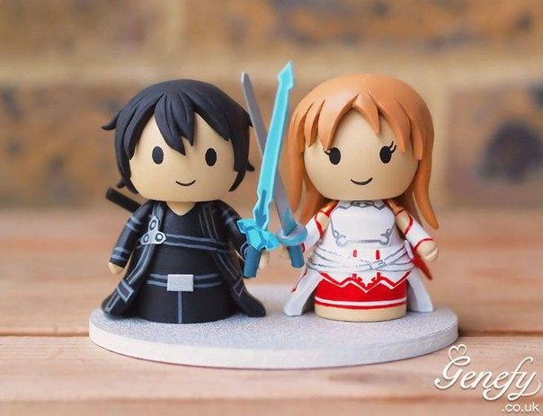 I Came Across These Amazingly Gorgeous Geeky Cake Toppers By Genefy Playground And Just Had To Share Them They Are Far Too Cute Keep Myself