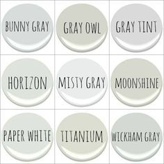 orc week two paint colors interior paint colors for home paint colors grey paint colors. Black Bedroom Furniture Sets. Home Design Ideas