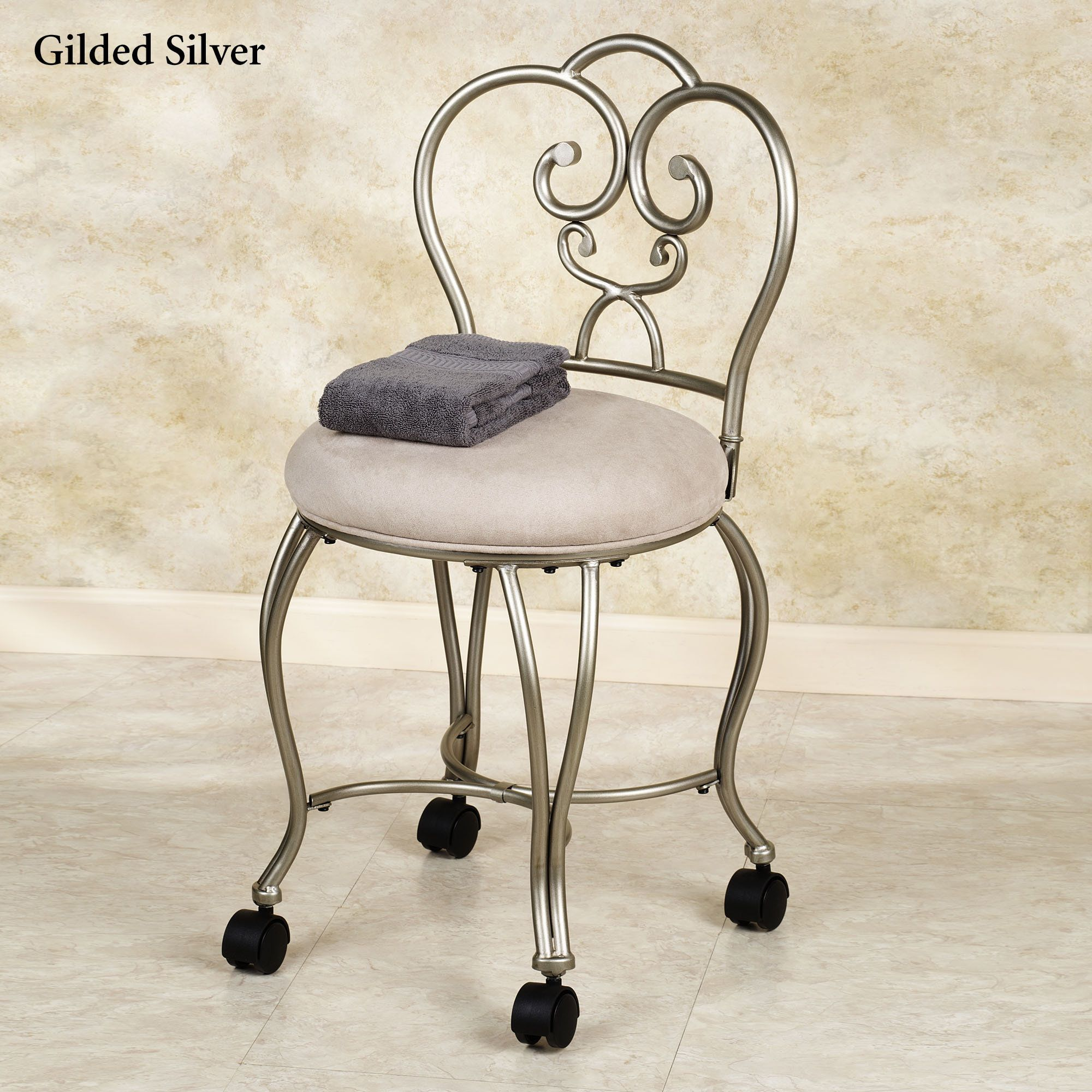 Lecia Vanity Chair Bathroom Vanity Chair Vanity Chair Vanity Stool
